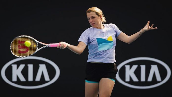Anastasia Pavlyuchenkova beat Bencic at the tournament in Dubai