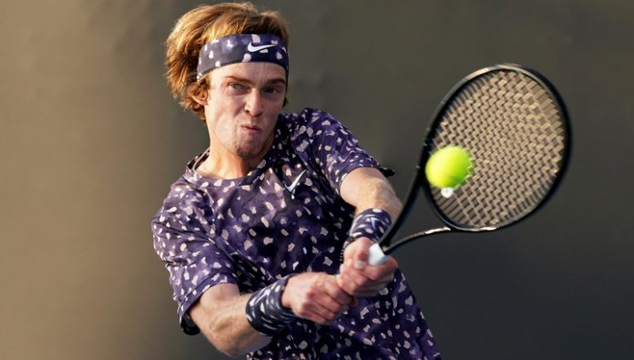 Andrei Rublev was not able to reach the semi-finals in Rotterdam