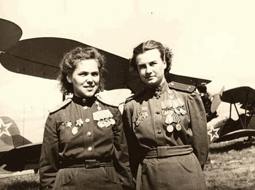 Any women in the red Army, the Germans feared most