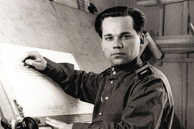 As deception designer Mikhail Kalashnikov changed his life