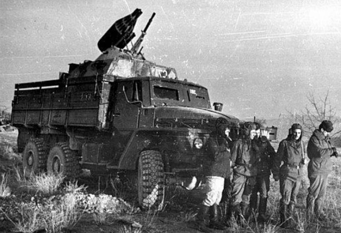 As Soviet soldiers in Afghanistan, improved military equipment
