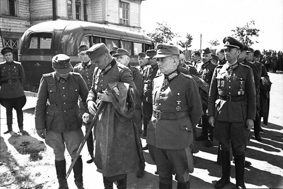 As the generals of the Wehrmacht were sitting in a secular captivity