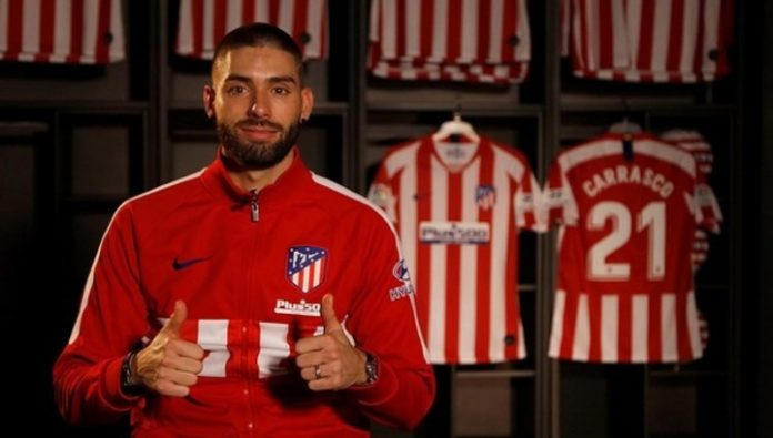 Atletico announced the return of Carrasco
