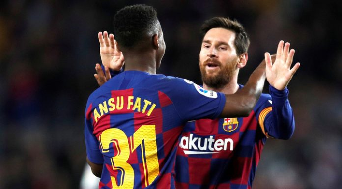 """""""Barcelona"""" has reduced backlog from """"real"""" thanks to the record Faty"""