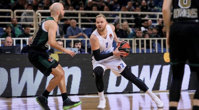 """Basketball. """"Zenith"""" on departure has lost """"Panathinaikos"""" in the match of Euroleague"""