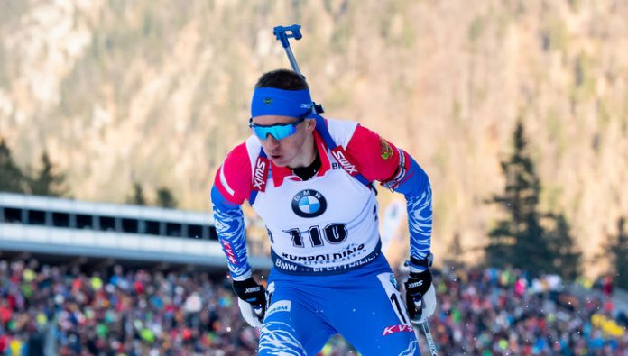 Biathlete Khalili became the second pursuit at the Junior world championship