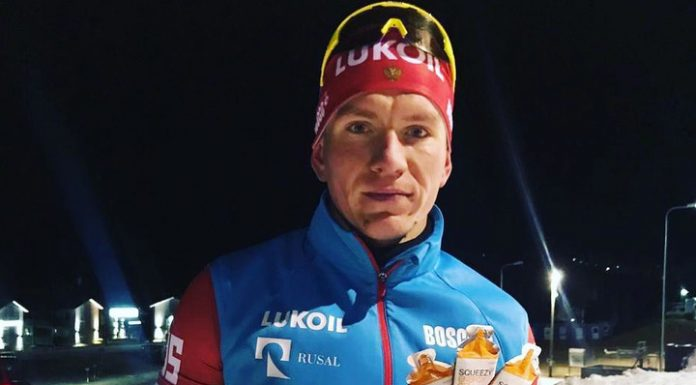 Bolshunov took third place at the world Cup in Sweden