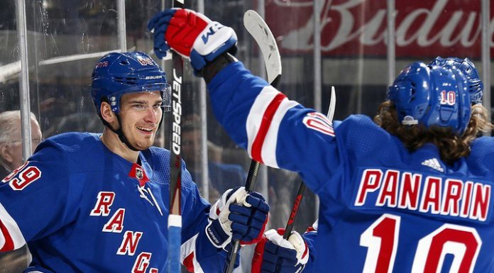"""Buchnevich and Panarin brought the """"new York Rangers"""" another victory"""