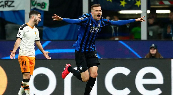 """Champions League. Goal Cheryshev not saved Valencia from defeat of the """"Atalanta"""""""