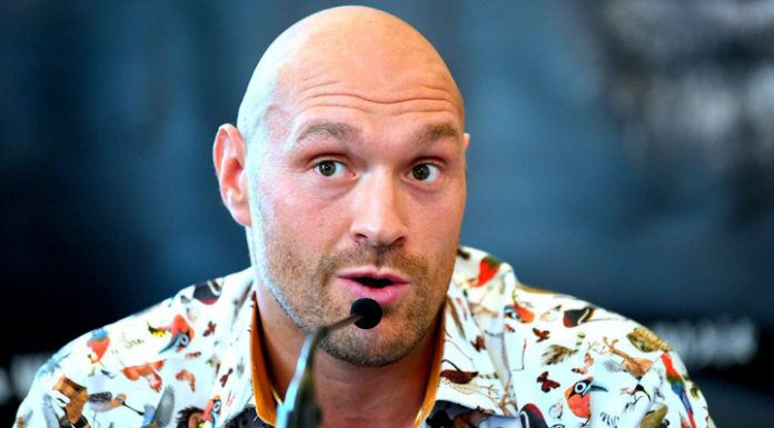 Cocaine and prostitutes. Boxer fury about the rest after the fight with Wilder