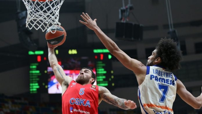 CSKA lost to Olympiacos in the Euroleague
