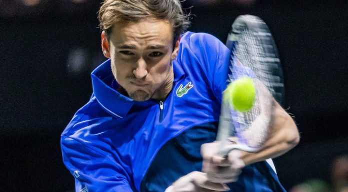 Daniil Medvedev reached the quarter-finals of the tournament in Marseille