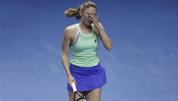 Ekaterina Alexandrova without a fight in the semifinal of the tournament in Saint-Petersburg