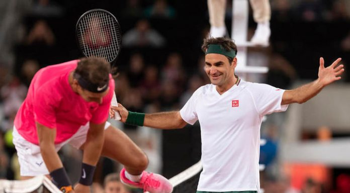 Exhibition match Federer – Nadal in South Africa attracted a record 48 million viewers