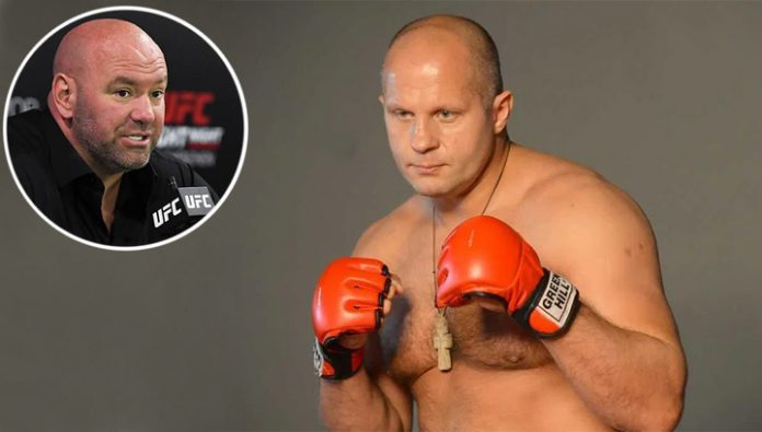 Fedor Emelianenko: the UFC? White spoke so boldly that we have not agreed
