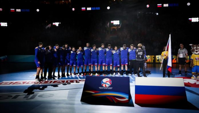 Five handball players barred for life from the national team of Russia
