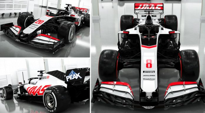 Formula 1. The Haas team first presented the design of a new car