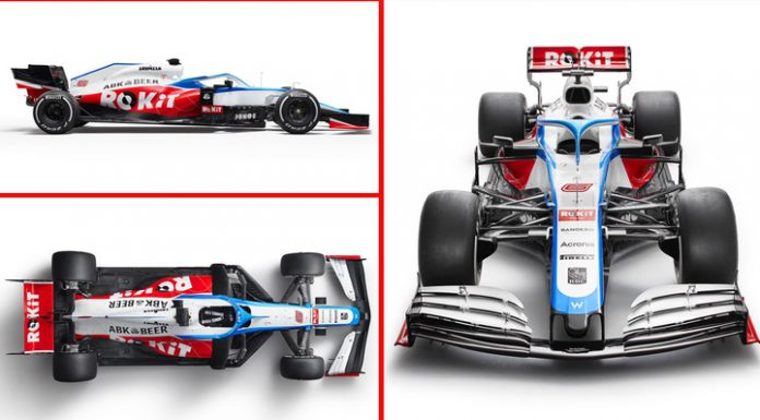 Formula 1. The Williams team unveiled its new car