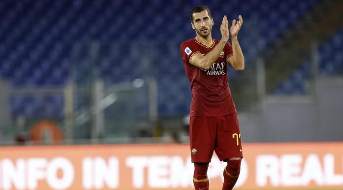 """Goal Mkhitaryan not saved Roma from defeat in a match with """"Bologna"""""""