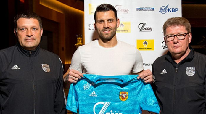 """Goalkeeper Yuri Lodygin has signed a contract with the Tula """"Arsenal"""""""