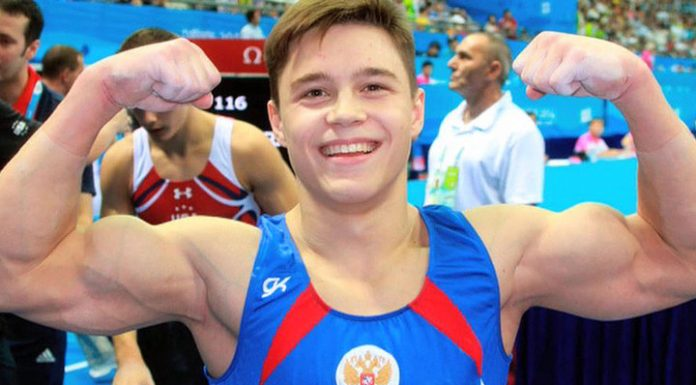 """Gymnast Nagorno dropped the statuette """"Silver DOE"""" and broke it"""