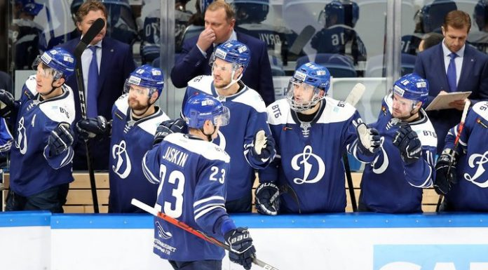 """Hockey players of """"Dynamo"""" was stronger """"the Locomotive"""""""