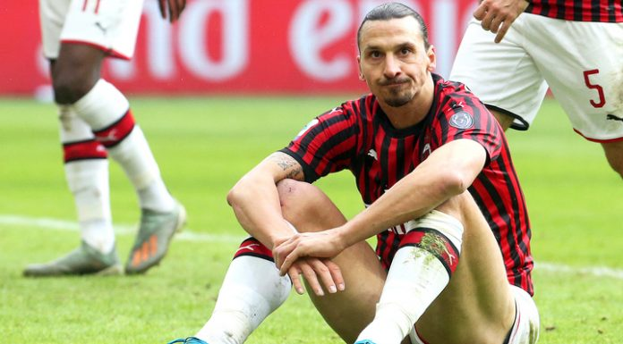 """Ibrahimovic scored in the Derby, but did not save Milan from the comeback of """"inter"""""""