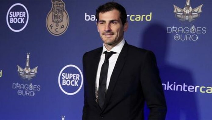 Iker Casillas completes the career of a goalkeeper. And wants to become an officer