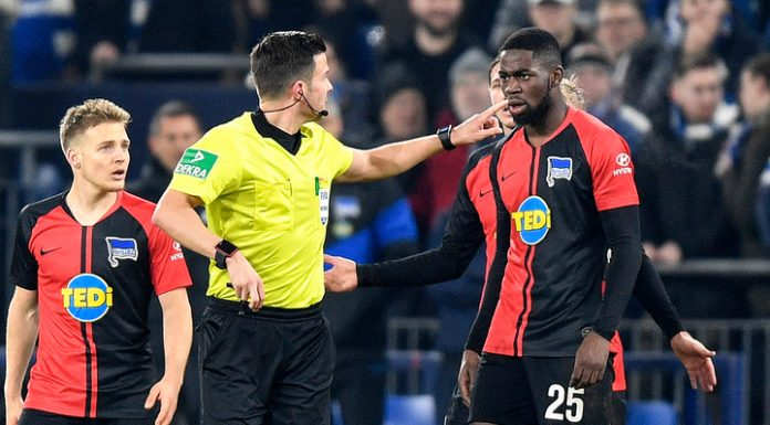 In the German soccer scandal on racial grounds