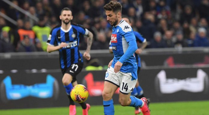 Inter lost to Napoli in the first leg of the semifinals of the Italian Cup