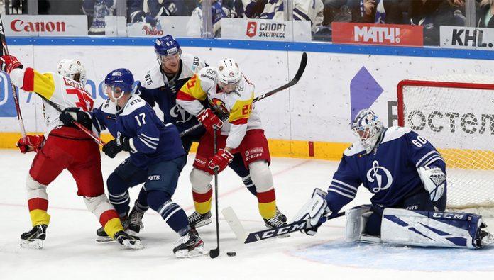 Jokerit Helsinki defeated the Moscow