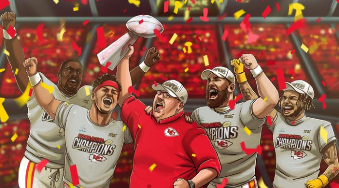 """""""Kansas city Chefs"""" made a comeback and for the first time since 1970, won the super bowl"""
