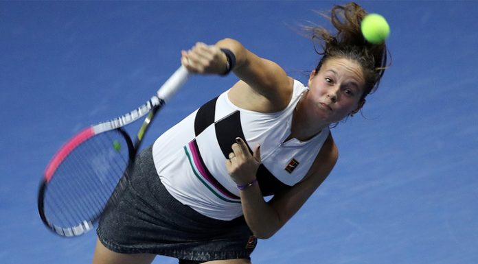 Kasatkina made it to the main draw of the tournament in Doha