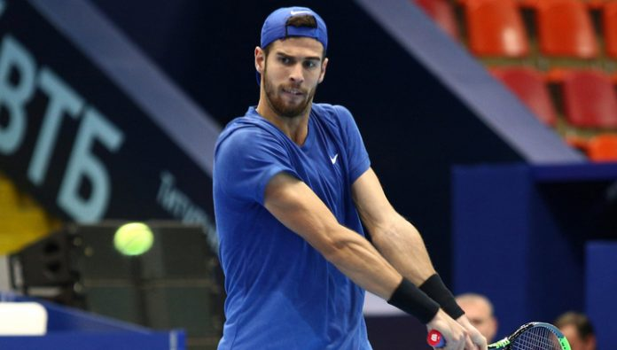 Khachanov failed to reach the quarterfinals of the tournament in Rotterdam