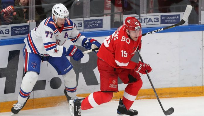 KHL. SKA for the first time in a season has beaten