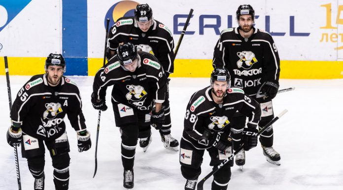 """KHL. """"Tractor"""" defeated """"Siberia"""" in Chelyabinsk"""