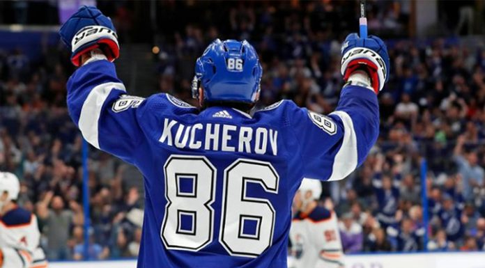 """Kucherov helped """"Tampa"""" to win the sixth match in a row"""