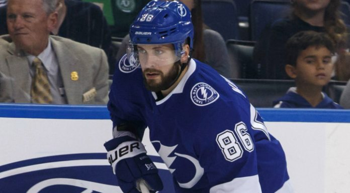 """Kucherov scored one point, but """"Tampa"""" has interrupted a victorious series"""
