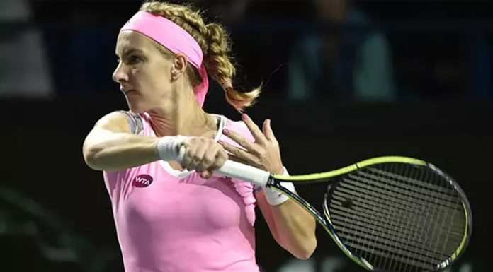 Kuznetsova started from a victory at a tennis tournament in Saint-Petersburg