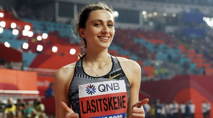 Laecken recognized as the best high jumper of the last decade