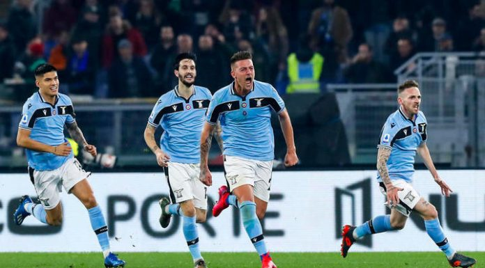 """""""Latium"""" has won strong-willed victory over inter in the Italian League"""