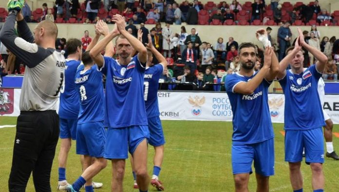 Legends Cup football almost ended in a scandal