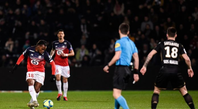 """Lille won the third victory in a row in the French championship, beating """"Angers"""""""