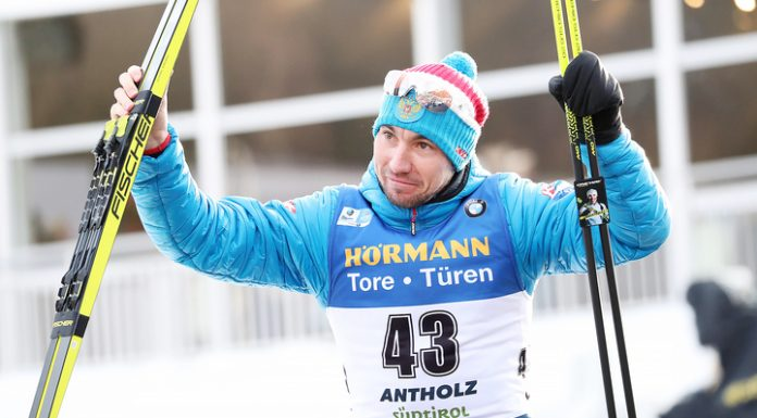 Loginov won the world Cup bronze in the pursuit