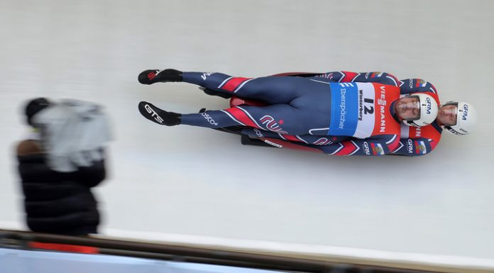 Luge Antonov and Denisov have won the world Cup in Germany