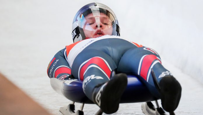 Luger Reelow made a gold double at the world Championships in Sochi