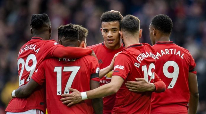 """""""Manchester United"""" defeated """"Watford"""" in the match of the 27th round of the Premier League"""