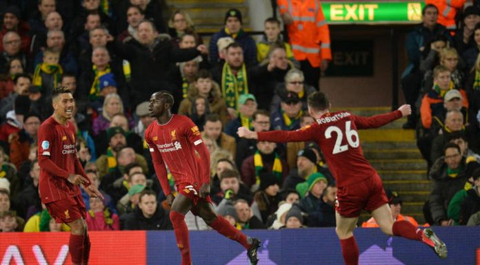 Manet's goal brought Liverpool 17th win in a row in the English Premier League