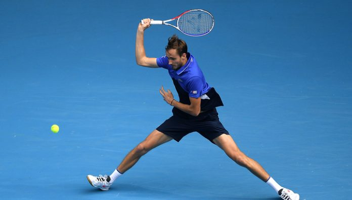 Medvedev conceded Pospisil in the opening match of the tournament in Rotterdam