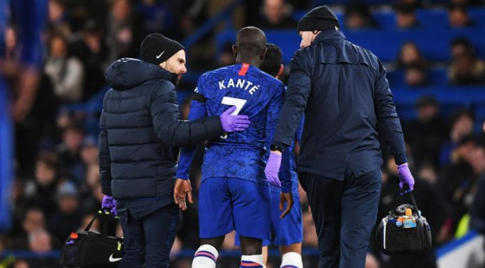 """Midfielder """"Chelsea"""" Kant will miss about three weeks due to injury"""